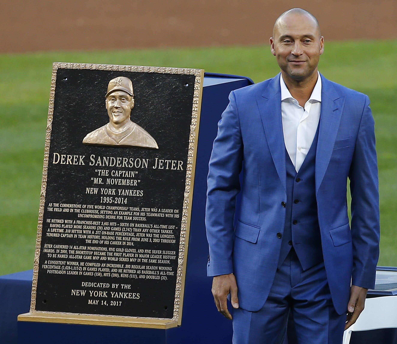 Derek Jeter's Number Retired in a Ceremony at Yankee Stadium