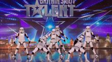 Standing Ovation And Golden Buzzer For Britain's Got Talent Stormtroopers
