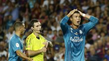 Cristiano Ronaldo suspended five games for red card, referee shove