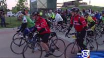 Cyclists take to the streets for BP MS 150