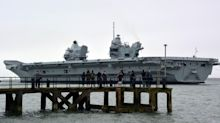 Royal Navy investigating leak on board aircraft carrier HMS Prince of Wales