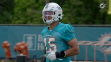 Dolphins rookie Jaelan Phillips talks about the second day rookie camp drill