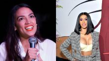 Alexandria Ocasio-Cortez gets slammed for quoting rapper Cardi B's lyrics: 'You have a civic duty to write intelligibly'
