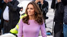 Kate Middleton wows in $1,876 lilac dress from fashion designer accused of dissing Meghan Markle's wedding gown
