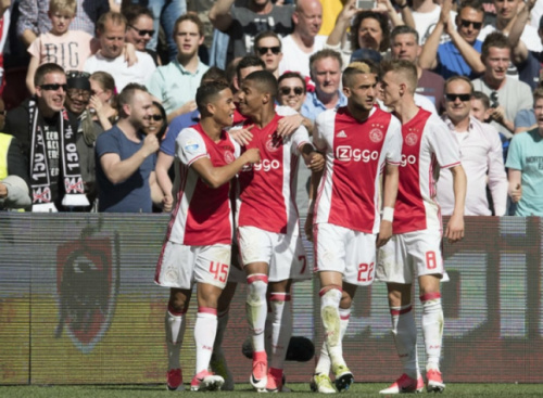 David Neres marca e Ajax vence clássico contra o Feyenoord