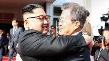 Kim, Moon, Hold Surprise Meeting on North Korean Side of Panmunjom