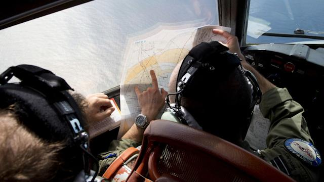 SEARCH NARROWS FOR FLIGHT 370