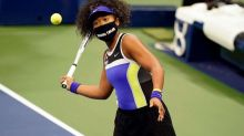 How Naomi Osaka is using masks to make statement on one of world's biggest tennis stages