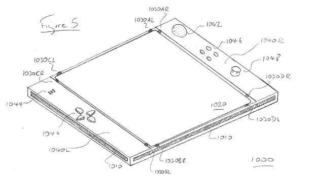 Sony patent application reveals multi-sensor control surface called EyePad, of all things