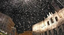 Roma, a Santa Maria Maggiore 'rivive' il prodigio della Madonna della Neve
