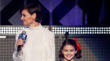 Mira lo enorme que está la hija de Tom Cruise y Katie Holmes