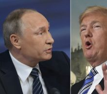 After no end of drama, Trump and Putin take to summit stage