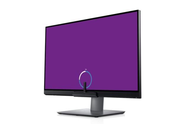 Dell built a color calibrator into its new monitor
