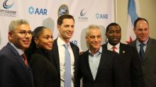 Mayor Emanuel, City Colleges of Chicago And AAR Announce The Aviation Futures Training Center