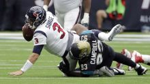 It'd be cool if Jaguars' Calais Campbell yelled 'checkmate!' every time he got a sack