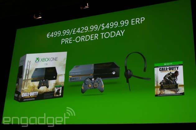 'Call of Duty: Advanced Warfare' is getting a custom Xbox One with 1TB of storage