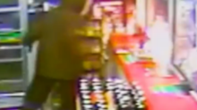 DC Robbery Suspect Sets Convenience Store Counter on Fire