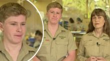 Rob Irwin breaks down on Sunrise over bushfire crisis