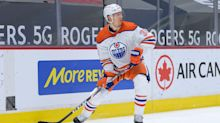 Oilers' Chiasson suspended 1 game for hit on Leafs' Vesey