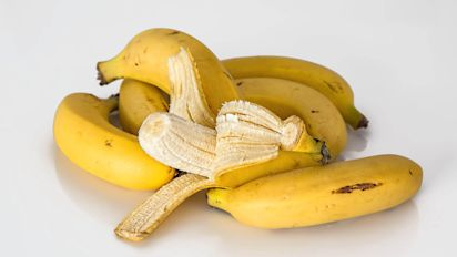 The stringy bits on bananas are probably rather nutritious