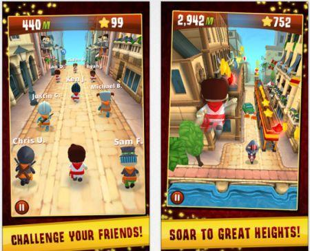 Zynga releases Running With Friends, developed with Eat Sleep Play