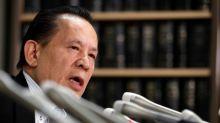 Japan's Universal says former chairman Okada arrested in Hong Kong