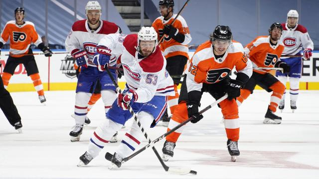 Tomas Tatar Invisible In Canadiens Loss To Flyers