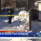 Girl, 12, dies after snow fort collapses on her outside Rothem Church in Arlington Heights