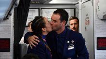 Chili : mariés par le pape en personne, à 11.000 mètres d'altitude