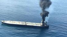 Blaze breaks out again on oil tanker off Sri Lanka, cargo area intact