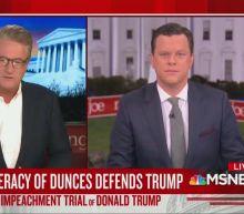 Joe Scarborough Trashes Trump's Defense Team: 'Confederacy of Dunces!'