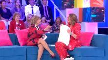 María Teresa Campos saca del armario a Toñi Moreno en su regreso a la televisión