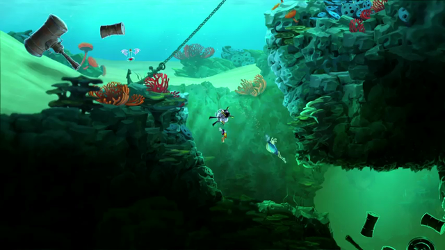 Rayman Legends | 20,000 Lums under the Sea