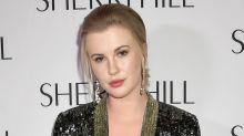 Ireland Baldwin channels mom Kim Basinger in totally nude PETA ad