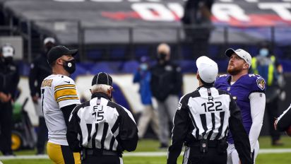 Ravens-Steelers game pushed back to Tuesday