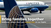 U.S. airlines ask government not to put separated migrant children on flights