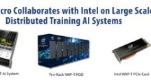 Supermicro Collaborates with Intel to Deliver Large Scale Distributed Training AI Systems