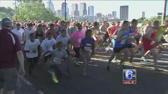 Father's Day tradition: Gary Pap Run 2014