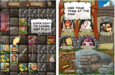 Daily iPhone App: Rune Raiders charges into turn-based combat