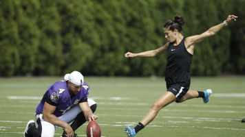 Lloyd reveals she got offers from 2 NFL teams