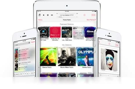 iTunes Radio briefly made available in Canada and the UK before being swiftly removed