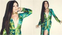 Gessica Kayane usa look inspirado em J-Lo em festa de aniversário