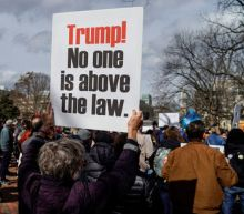 Presidents Day protests decry Trump's emergency declaration