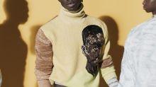 Pour sa collection Homme, Dior associe l'artiste ghanéen Amoako Boafo