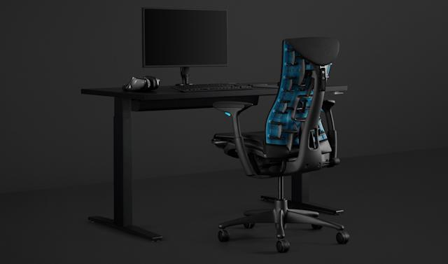 Logitech and Herman Miller made a $1,495 gaming chair
