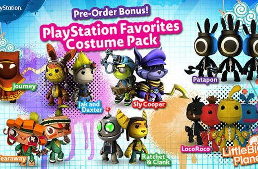 LittleBigPlanet 3 launching November 18, pre-orders net costumes and plushies