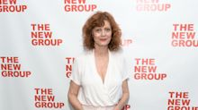 Susan Sarandon cooly responds to political troll asking if she was woken 'out of her cryogenic chamber' amid Elizabeth Warren flap