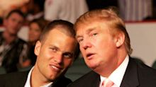 For Tom Brady, there's no avoiding Donald Trump during Super Bowl week