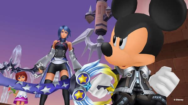 Disney stars highlight new Kingdom Hearts HD 2.5 Remix screens