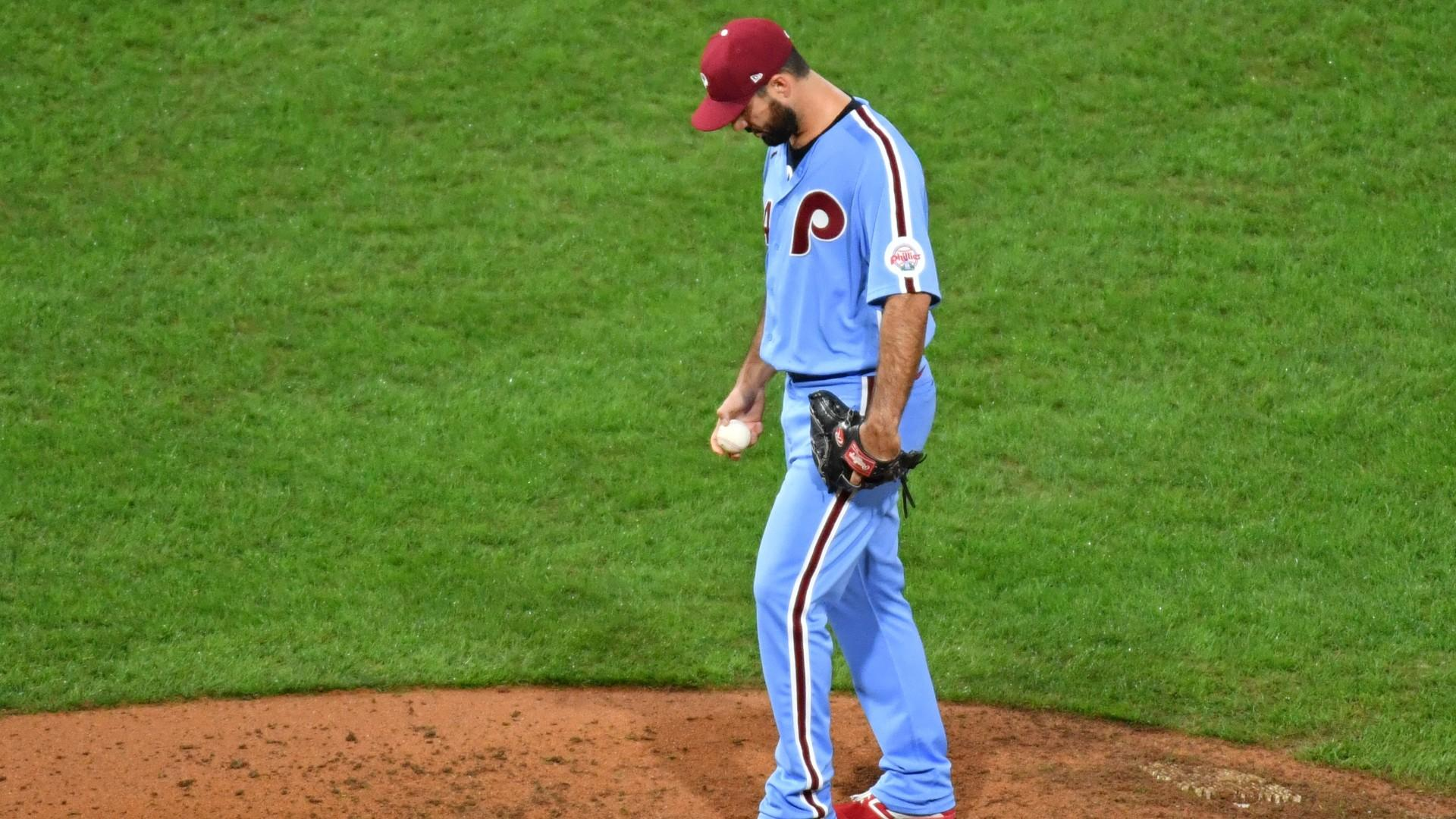 Phillies' bullpen on pace to join dubious company with ERA over 7.00
